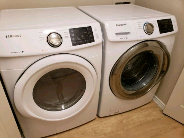 Samsung Washer Dryer with Warranty and Accessories