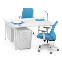 Poppin Series A Desk for 2 Alexandria, 22311