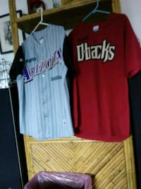 white and red baseball jerseys