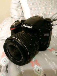 black nikon d3200 with 18-55 mm lens DSLR camera Sebring, 33870