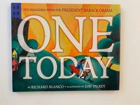 One Today picture book Barack Obama hardcover Chevy Chase, 20815
