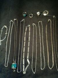 Silver necklesses  Kingston, K7M 6A5