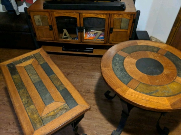 Used Tv Stand And Matching End Tables For Sale In Keller Letgo