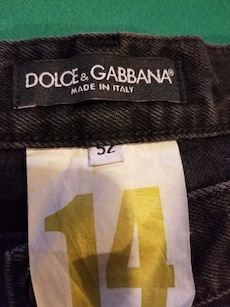 D and G jeans