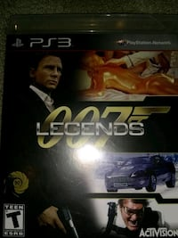 PS3 007 legends game