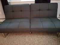 Like new Grey click and clack futon