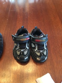 New sketchers baby shoes, size 5, for $10.00 add 3 dollars more and you can take the slippers, the other shoes and socks Boise, 83709