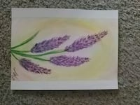 Original artwork! Watercolor floral painting Manassas, 20109