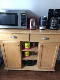 stainless steel microwave oven and black microwave oven Belleville, 07109