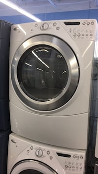 white and gray front-load clothes washer Toronto, M3J 3K7