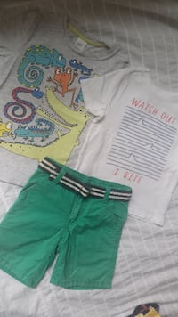 Summer clothes for boy 2 years Ричмонд, V7C 3M6