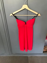 Nuisette rouge taille s