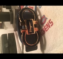 Ferragamo men belt