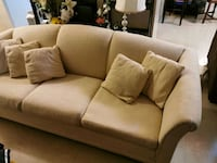 3 seater sofa and a glass coffee table pick up before November 28th
