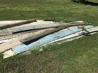 Free large stack of multi colored vinyl siding  [TL_HIDDEN]  Florence, 39073