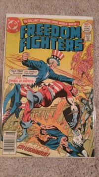 1977 Freedom Fighters #8