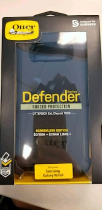 black and blue Otterbox iPhone case Toronto