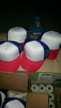 4 hats red white and blue  Sacramento, 95838
