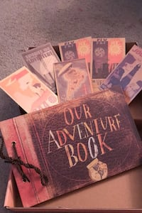 Our Adventure Book from Up.