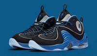 Pair of black and blue air penny 2 size 8.5 in men Woodbridge, 22193