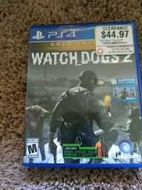 Sony PS4 Watch Dogs 2 case West Melbourne, 32904