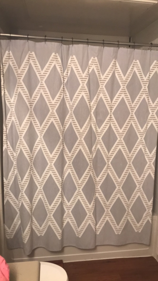 Used Nate Berkus Shower Curtain From Target For Sale In Addison