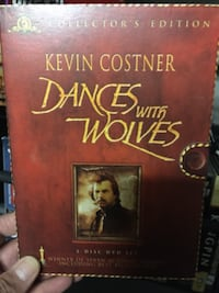 Dances with  wolves collector dvd