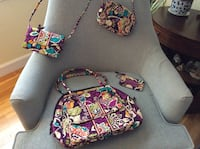 Vera Bradley Handbag, Crossbody Wallet, Small Purse, ID/card holder Woodbridge, 22192