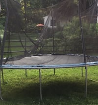 black and yellow trampoline with enclosure Montgomery Village, 20886