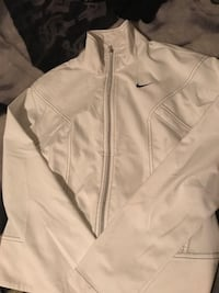 NIKE Zip up jacket (White&Black)