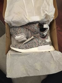 Adidas NMD R1 Colour Static Rainbow size 8 DS