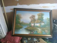 brown and white house near body of water painting  Ocala, 34470