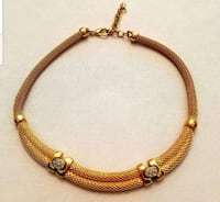 ELEGANT GOLDEN ROPE CHOKER