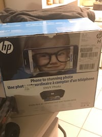 HP ENVY PHOTY 6255 Printer Used in the box