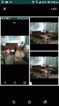 Couch 2 pieces $150 Fort Lauderdale, 33334