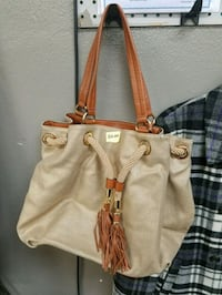 women's brown leather tote bag Loves Park, 61111