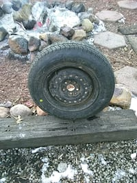 New P185/7014 good year tire on rim Topeka, 66605