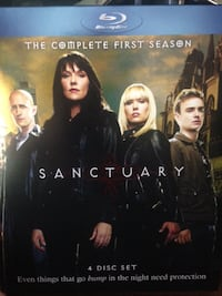 SANCTUARY -  BLU RAY- THE COMPLETE FIRST SEASON 4 DISC SET  Mississauga