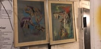 brown wooden framed painting of woman New York, 11226