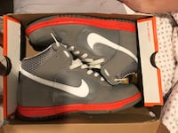 Gray-white-red Nike shoes in box Islip, 11706