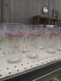 clear glass Coca-Cola drinking glasses Peoria, 61602