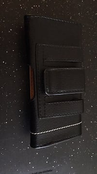 Leather Cellphone Pouch Belt Clip