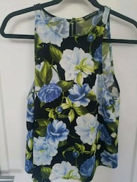 American Apparel Floral open back shirt Montreal, H4G 2C5