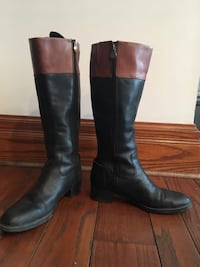 Franco Sarto Leather Riding Boots (Size 9.5) Toronto, M9A 3S9