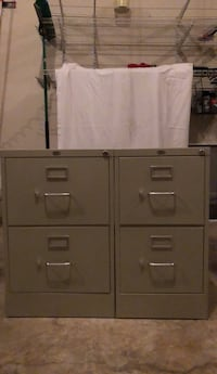 gray metal 4-drawer filing cabinet Ashburn, 20147