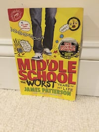 MIddle School the Worst Years of my Life book 1