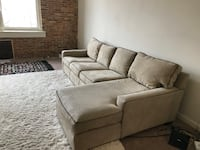 gray suede 2-seat sofa Rockville, 20850