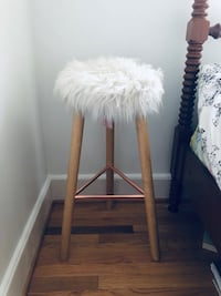 PB Teen Fur Stool