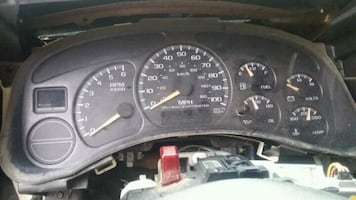 Instrument cluster from 03 Tahoe