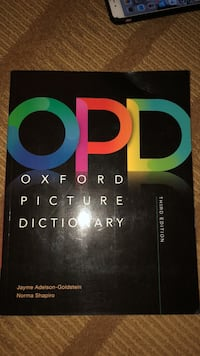 oxford picture dictionary  Fairfax, 22030